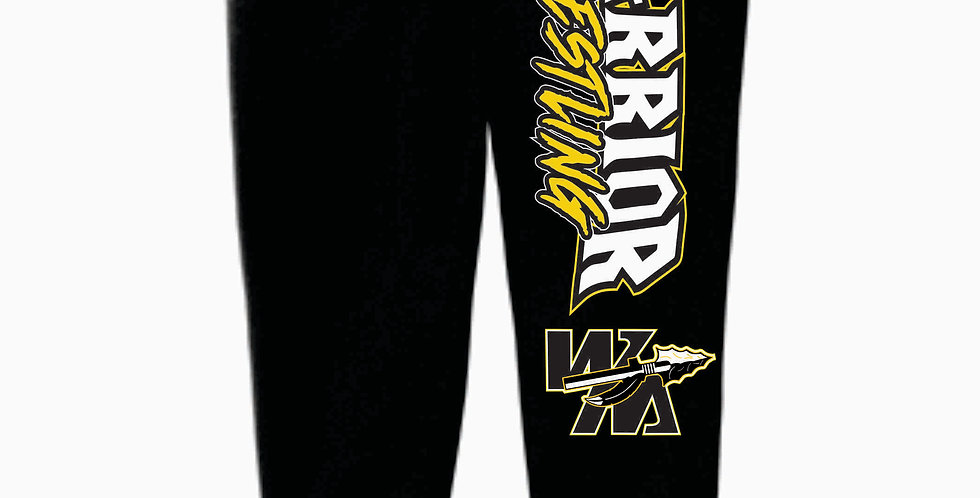 Watkins Youth Wrestling Black Bella Canvas Joggers