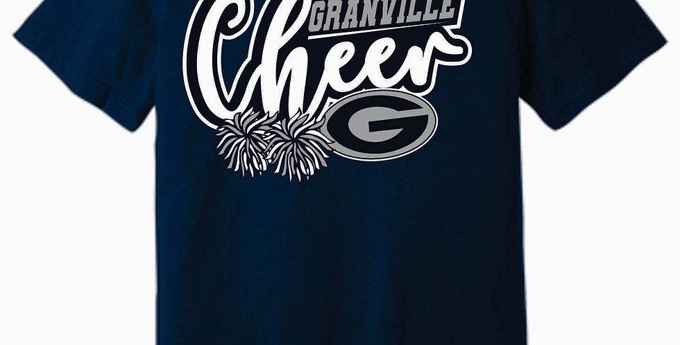 Blue Aces Soft Navy T shirt