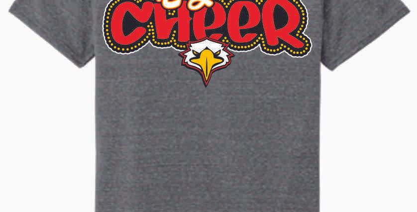 LCCA Grey Cheer Soft T Shirt