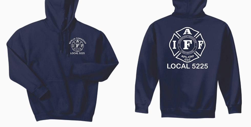 Berlin Township Fire Navy Hooded Sweatshirt