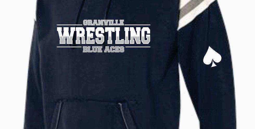 Granville Wrestling J America Navy Hood