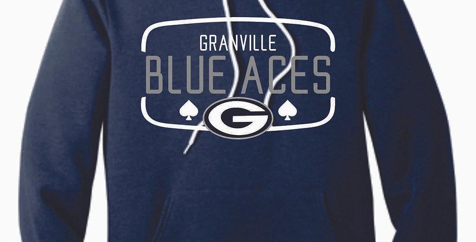 Granville Blue Aces Canvas Navy Hood