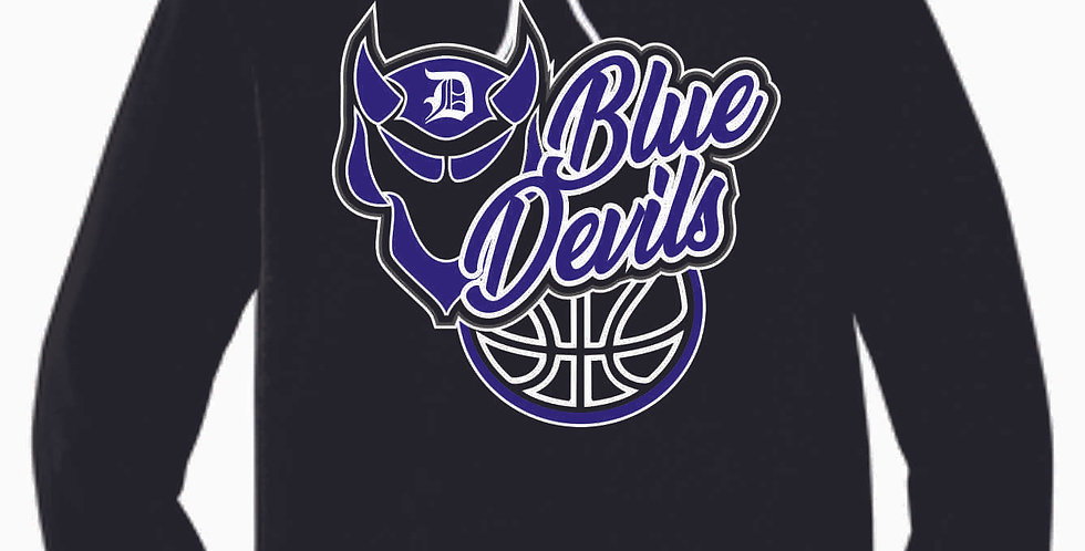 Danville Basketball Black Soft Hoody