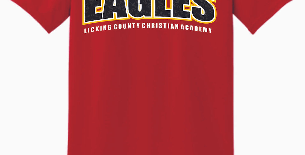 LCCA Red Eagles Cotton T Shirt