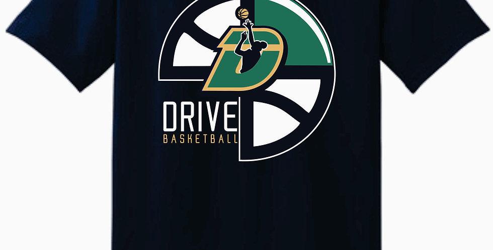 The Drive Navy Gildan Cotton T Shirt