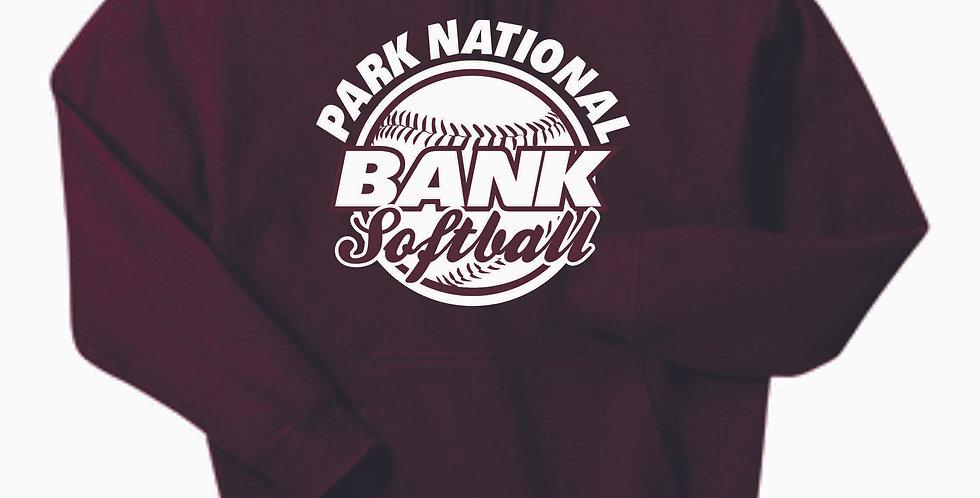 Newark Youth Softball PNB Maroon Cotton Hoody