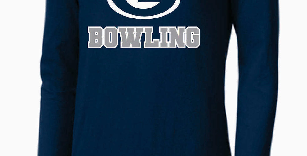 GHS Bowling Navy Nike Core Cotton Long Sleeve