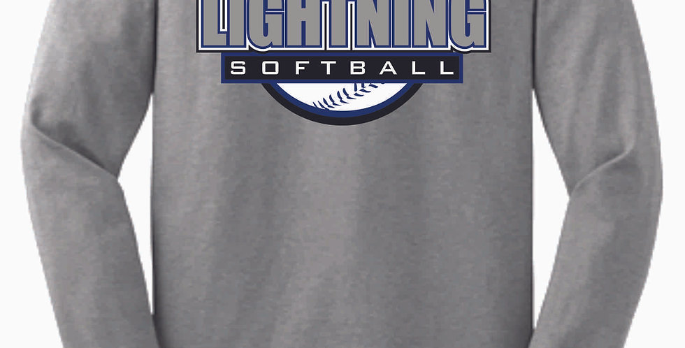 Lightning Grey Cotton Longsleeve
