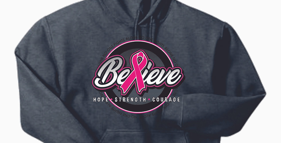 Breast Cancer Hooded Sweatshirt