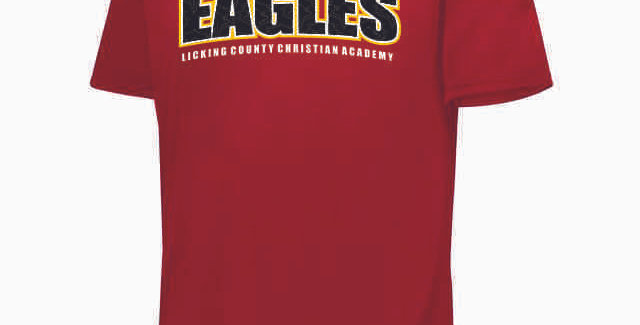 LCCA Red Eagles Shortsleeve Dri Fit