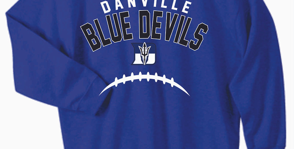 Danville Football Royal Cotton Crew