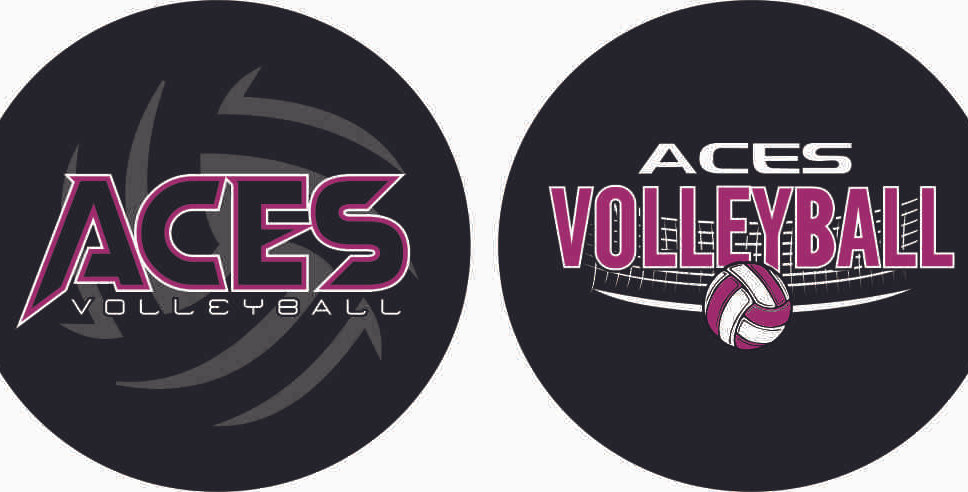 Aces Volleyball Bag Tag