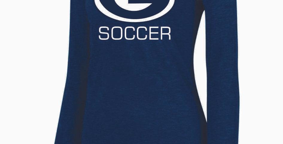 Granville Soccer Ladies G Logo Longsleeve