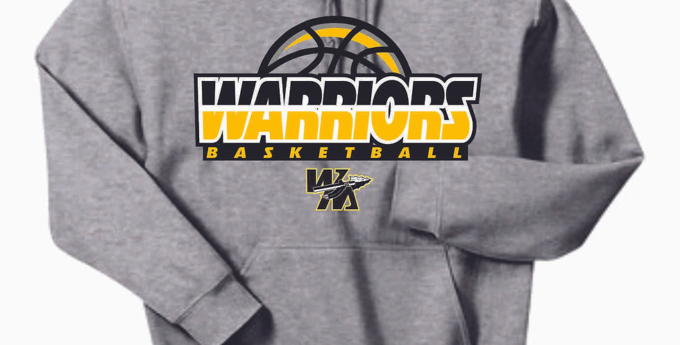 Watkins Youth Basketball Grey Hoody