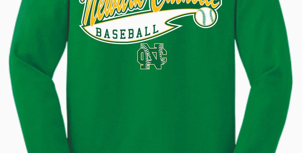 Newark Catholic Baseball Kelly Cotton Longsleeve Tee