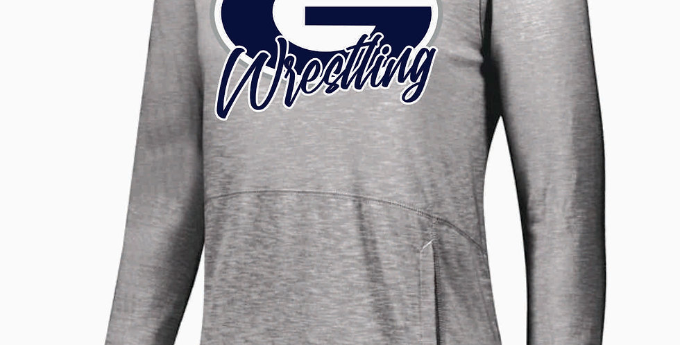 Granville Wrestling Holloway Simple Grey Journey Thin Hood