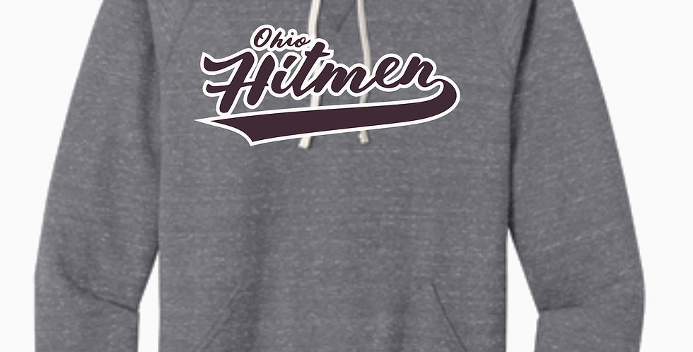 Ohio Hitmen Script Grey Snow Heather Hood