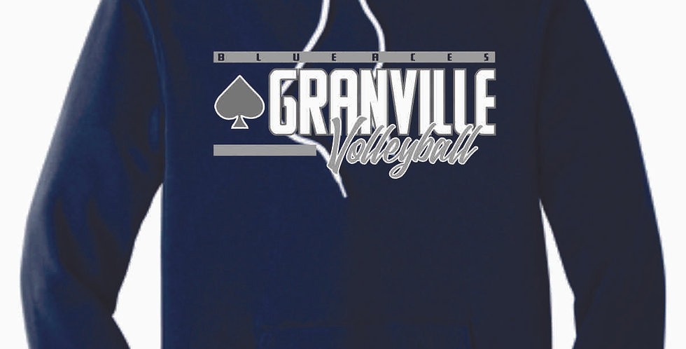 Granville Volleyball Navy Soft Hoody