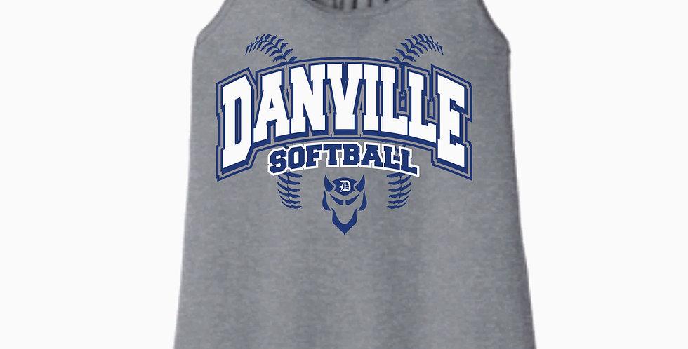 Danville Softball Grey Women's Tank