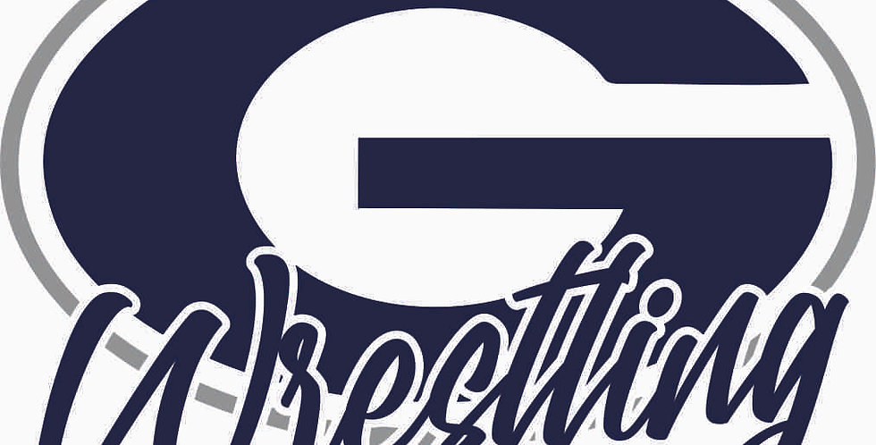 Granville Wrestling Window Decal