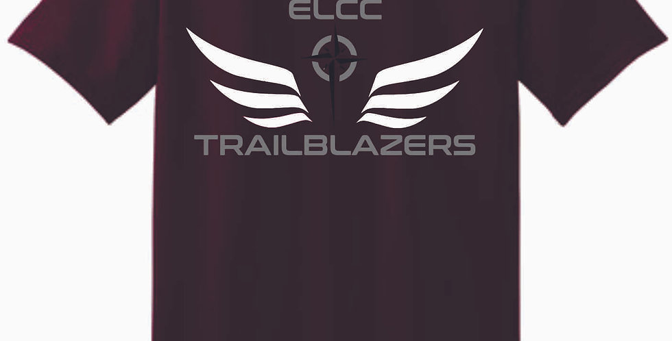 ELCC Basketball Maroon T Shirt