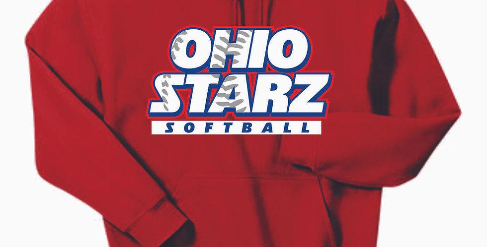 Ohio Starz Red Cotton Hoody