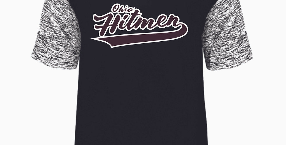 Ohio Hitmen Black Script Dri Fit Shortsleeve