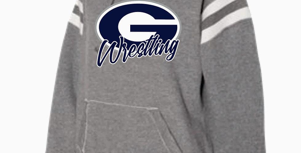 Granville Wrestling J America Grey Simple Hood