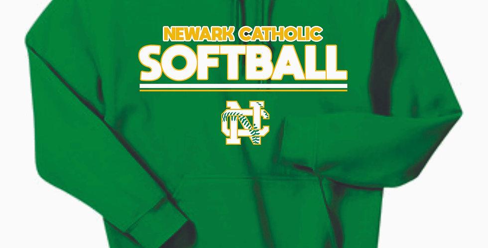 Newark Catholic Cotton Kelly Green Hoody