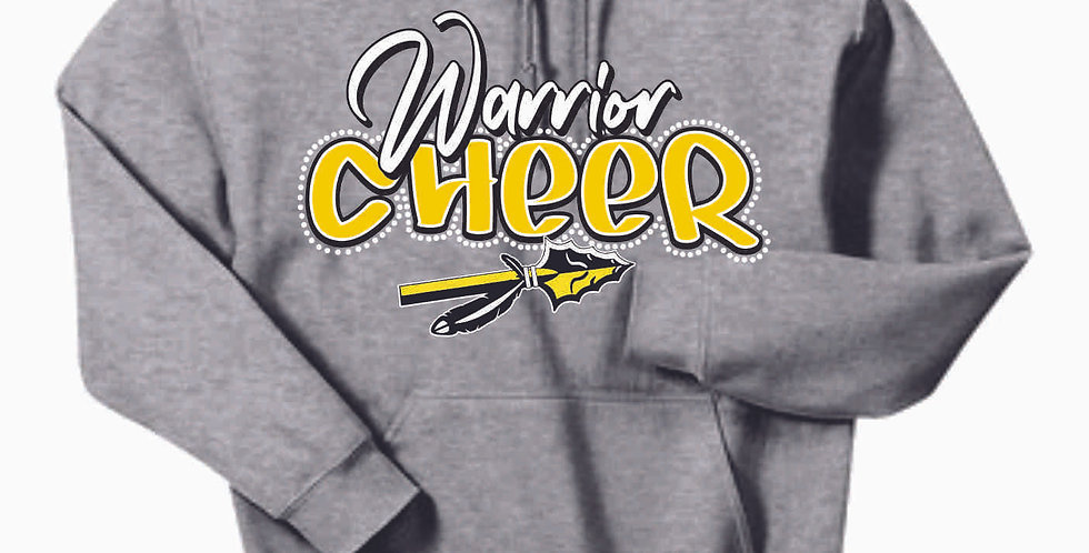 SWLYFC Cheer Grey Cotton Hoody