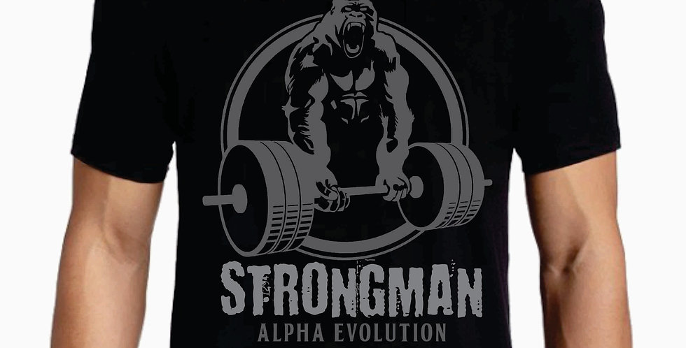 Alpha Evolution Bella Canvas Soft Strongman T-shirt