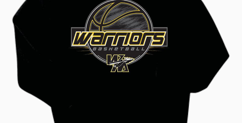 Watkins Youth Basketball Black Cotton Hood