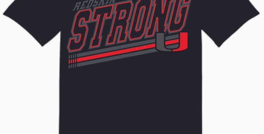 "Utica Black ""Strong"" Cotton T Shirt"