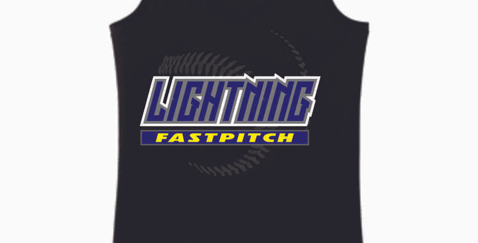Lightning Black Women's Tank