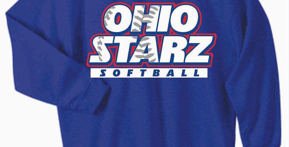 Ohio Starz Royal Cotton Crewneck
