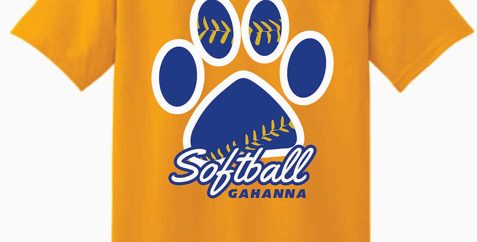 Gahanna Gold Cotton T Shirt