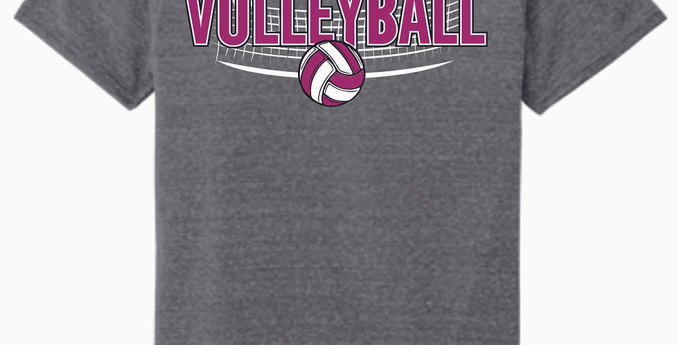 Aces Volleyball Original Grey Soft T Shirt