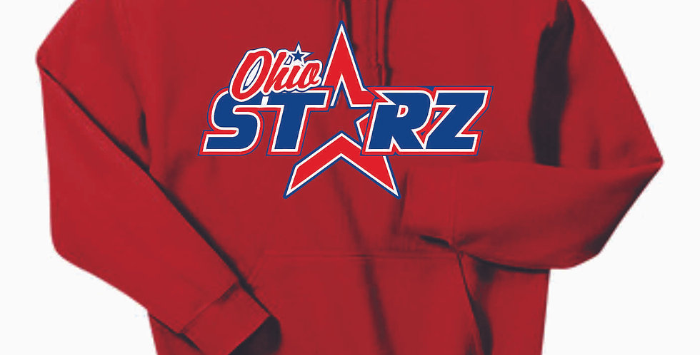 Ohio Starz Red Original Cotton Hoody