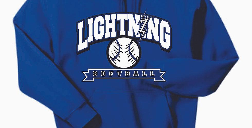 Lightning Royal Cotton Hoody