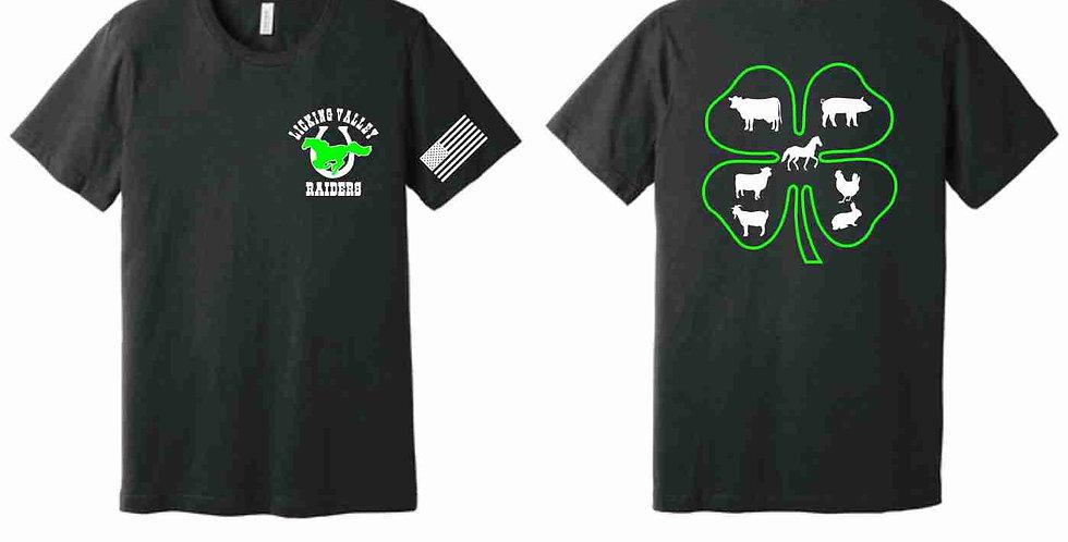 Licking Valley Raiders Soft T Shirt