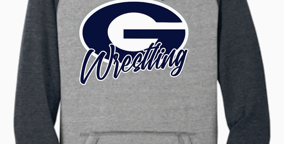 Granville Wrestling Grey Two Toned Simple Soft Hood