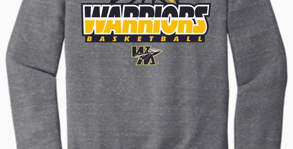 Watkins Youth Basketball Grey Snow Heather Soft Crew