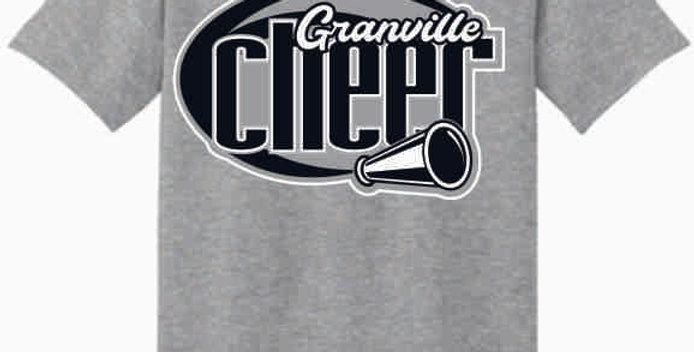 GHS Cheer Grey Cotton T-Shirt