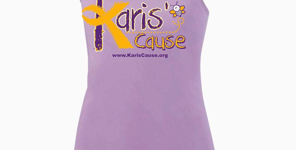 Karis's Cause Purple Women's Poly Tank