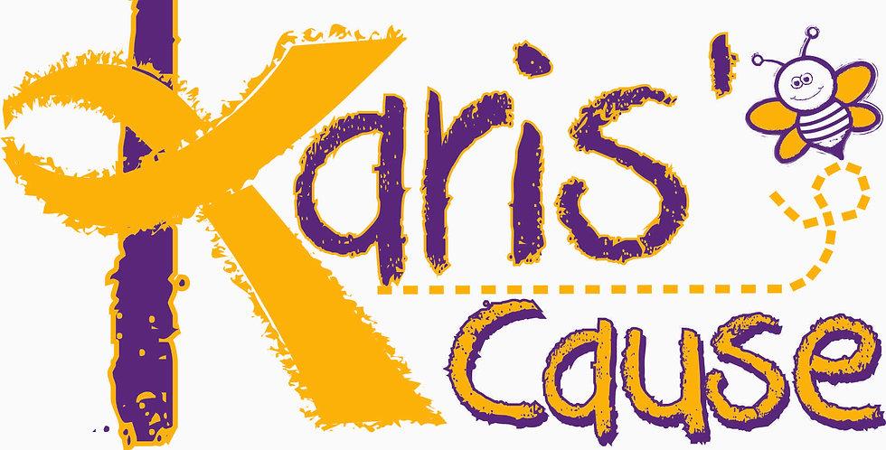 Karis's Cause Logo Window Decal