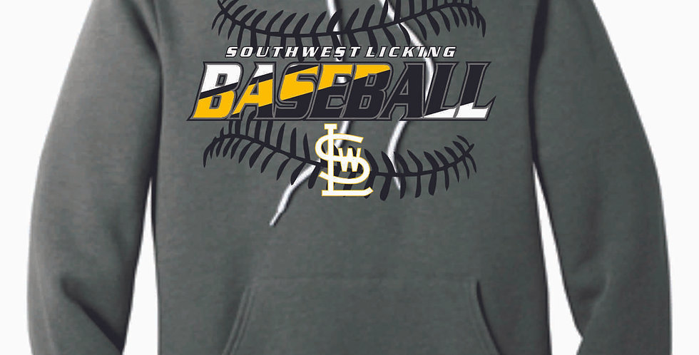 SWL Baseball Athletic Grey Soft Cotton Hood