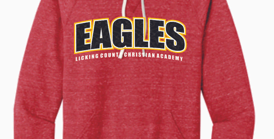 LCCA Red Eagles Soft Hood