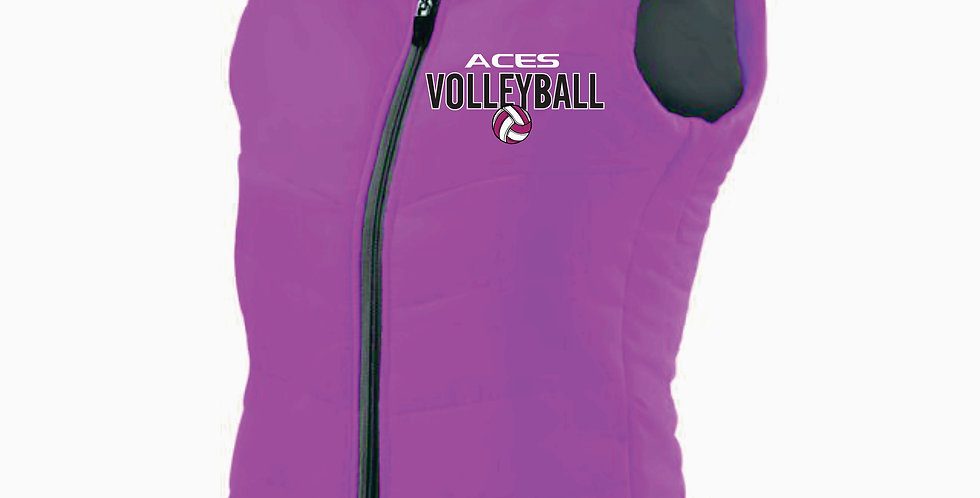Aces Volleyball Holloway Ladies Pink Admire Vest