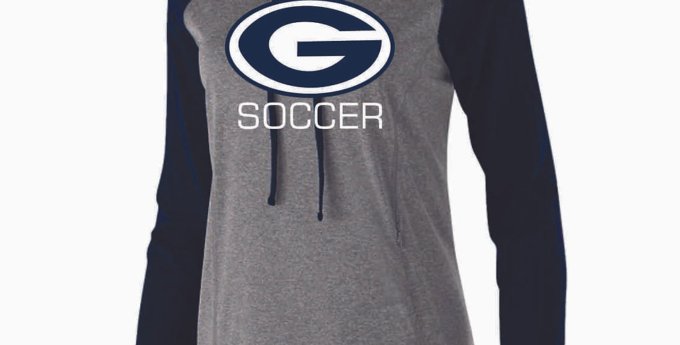 Granville Soccer Ladies G Logo Poly Hood