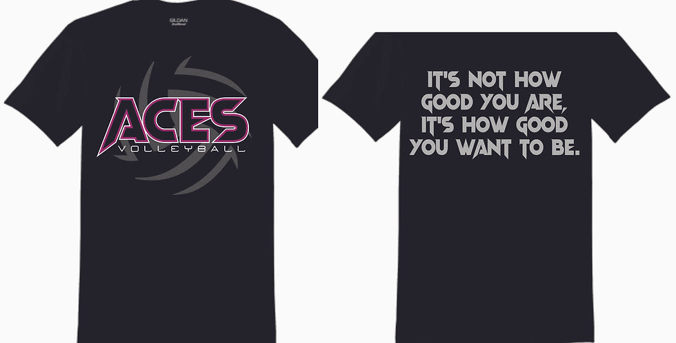 Aces Volleyball Practice T Shirt